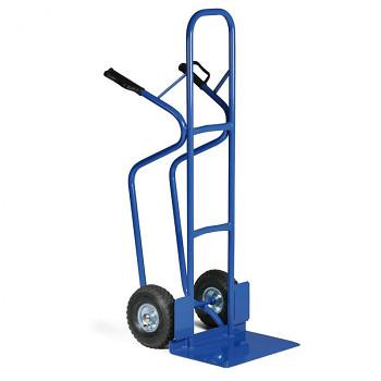 Rudl ocelový nosnost 250 kg, lopata 475x300, plná kola