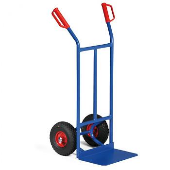 Rudl ocelový nosnost 200 kg, lopata 400x250, dušová kola