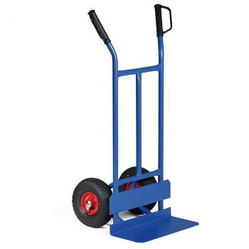 Ocelový rudl - ruční vozík s ochranou kol