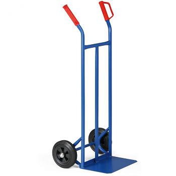 Rudl ocelový nosnost 200 kg, lopata 400x250, plná kola I