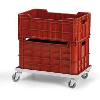 Pozinkovaný vozík pro přepravky
