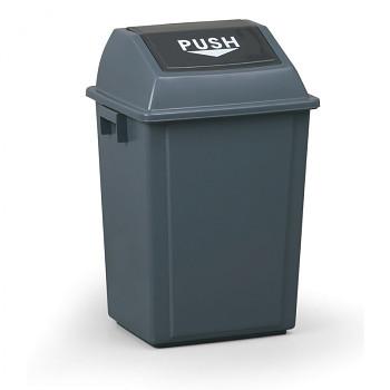 Koš na odpadky s víkem 40 l, plastový