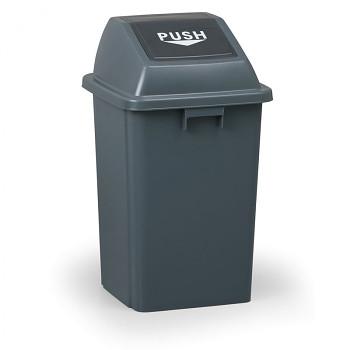 Koš na odpadky s víkem 60 l, plastový