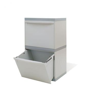 Koš na třídeněný odpad EKOMODUL, 2x 30 l
