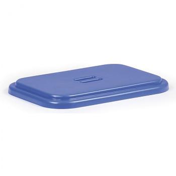 Víko na odpadkový pytel - modré