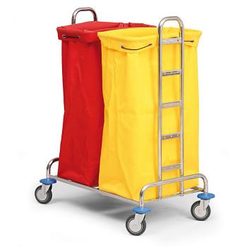 Vozík na sběr prádla nebo tříděného odpadu