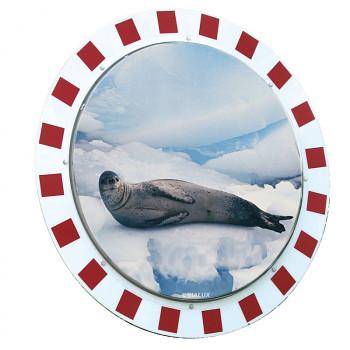 Dopravní zrcadlo 1000 mm, nerozbitné, úprava proti orosení