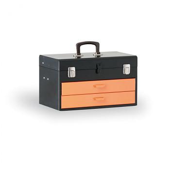 Kovový kufr na nářadí 450x270x295 mm