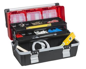 Plastový kufr na nářadí 560x280x278 mm