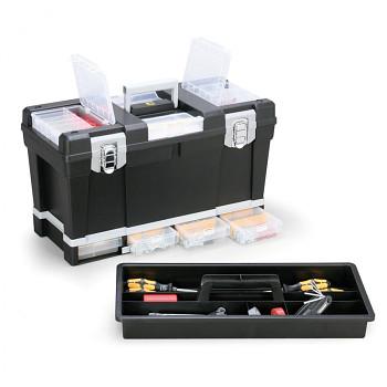 Plastový kufr na nářadí 580x270x330 mm