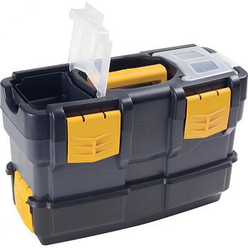 Plastový kufr na nářadí 420x220x230 mm