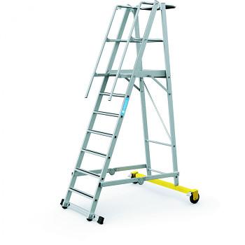 Skládací plošinový žebřík