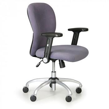 Kancelářská židle PRAKTIK šedá