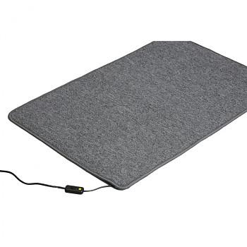 Topný koberec, 60 x 40 cm, hnědý