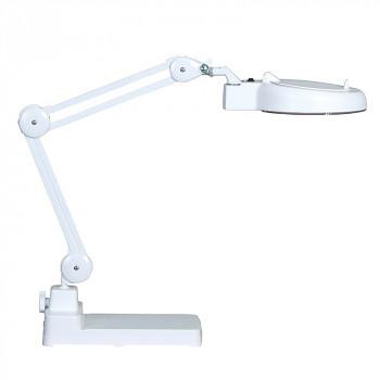 Stolní lupa s LED osvětlením na podstavci