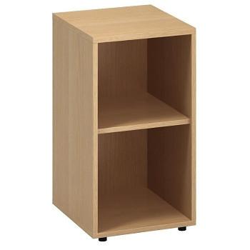 Kancelářská skříň,  742x 400x450, buk, police, CLASSIC