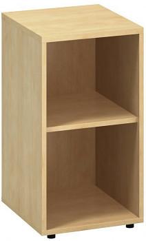Kancelářská skříň,  742x 400x450, divoká hruška, police, CLASSIC