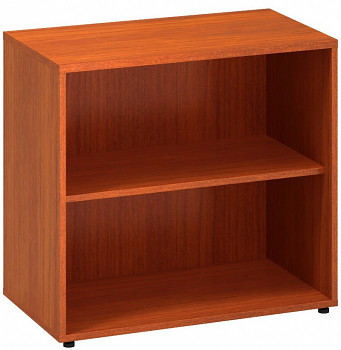 Kancelářská skříň,  742x 800x450, třešeň, police, CLASSIC