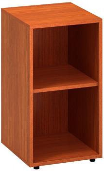 Kancelářská skříň,  735x 400x450, třešeň, police, CLASSIC