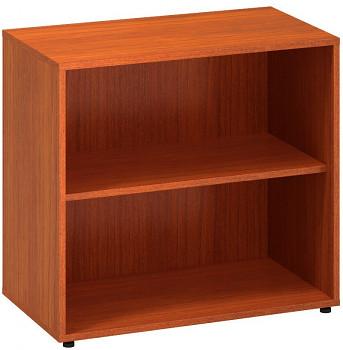 Kancelářská skříň,  735x 800x450, třešeň, police, CLASSIC