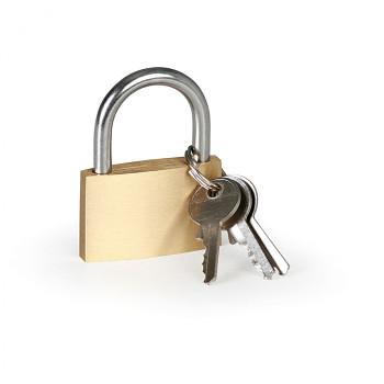 Visací zámek na klíč