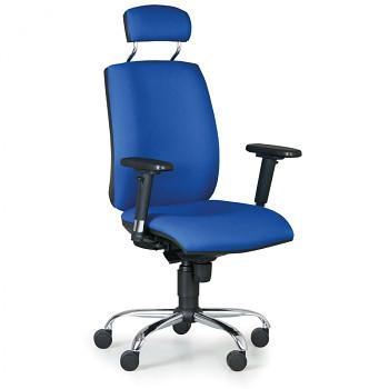 Kancelářská židle FLEXIBLE modrá
