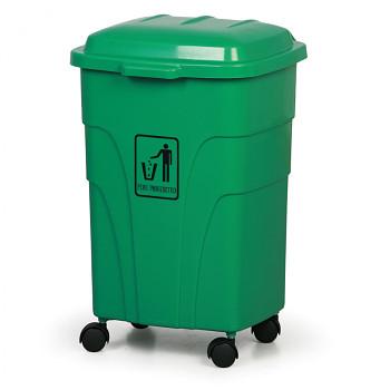 Mobilní odpadkový koš 70 l