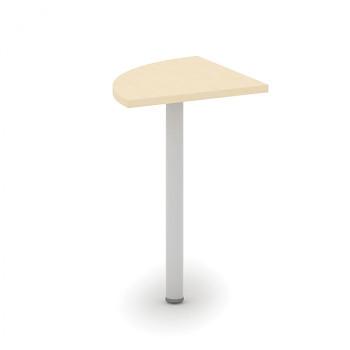 Spojovací stolek  800x 800, bříza, MIRELLI A+