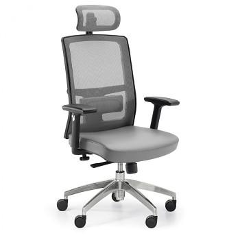 Kancelářská židle NED CN šedá