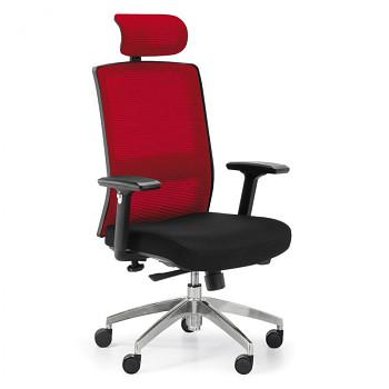 Kancelářská židle ALTA MF červená