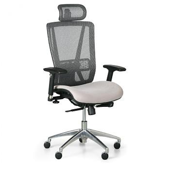 Kancelářská židle LESTER CN šedá