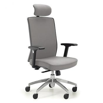 Kancelářská židle ALTA F šedá