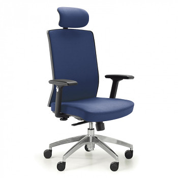 Kancelářská židle ALTA F modrá