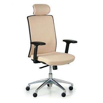 Kancelářská židle ALTA F béžová