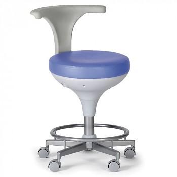 Laboratorní stolička modrá