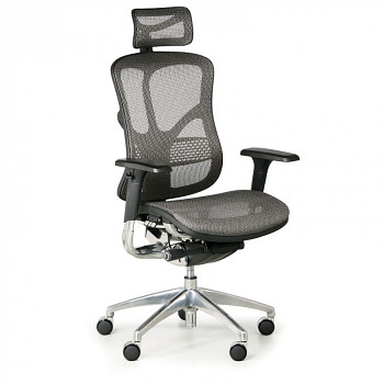 Kancelářská židle WINSTON N šedá