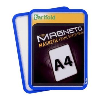 Magnetická kapsa A4, 2ks, modrá