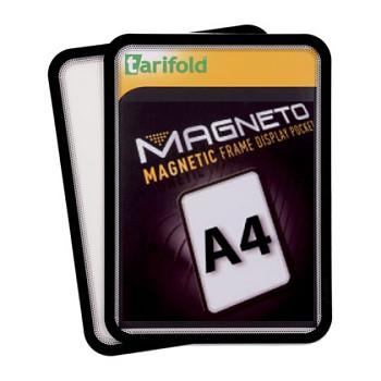 Samolepící kapsa A4 (2ks), nepermanentní, černá