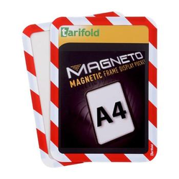 Samolepící kapsa A4 (2ks), nepermanentní, červeno-bílá