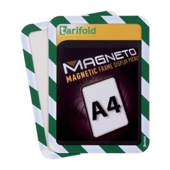 Samolepící kapsa A4 (2ks), nepermanentní, zeleno-bílá
