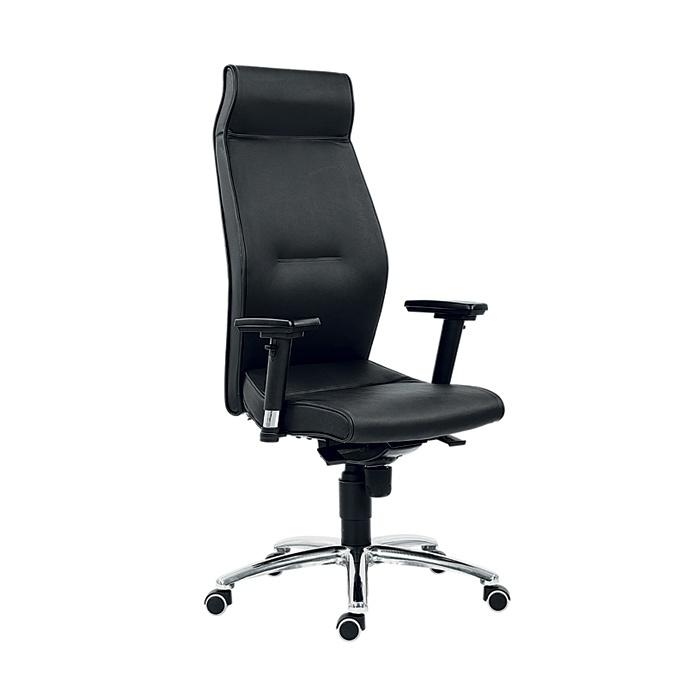 Kancelářské křeslo MEGA L černá