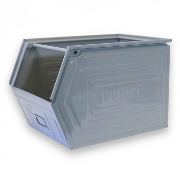 Kovová bedna zkosená 400x600x400 mm