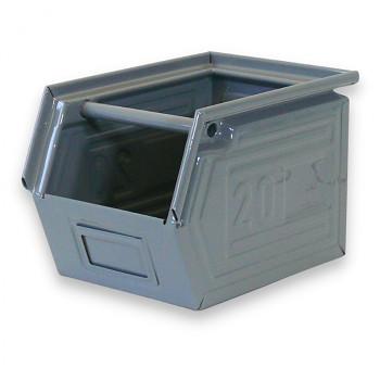 Kovová bedna zkosená 300x300x200 mm