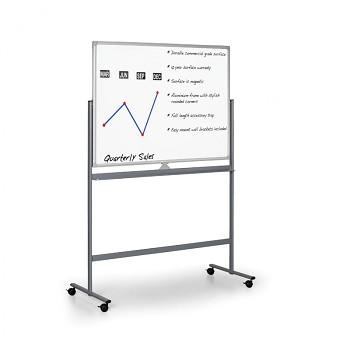 Otočná magnetická tabule mobilní 1500x1200 mm
