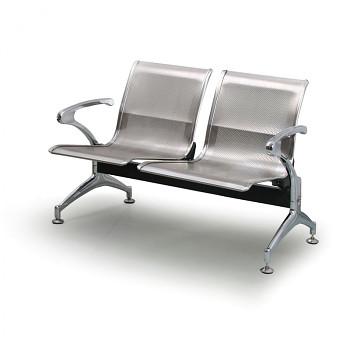 Kovová lavice STRONG - nerez