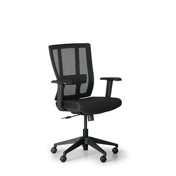Kancelářská židle MET černá