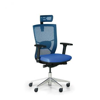 Kancelářská židle DESIGNO modrá