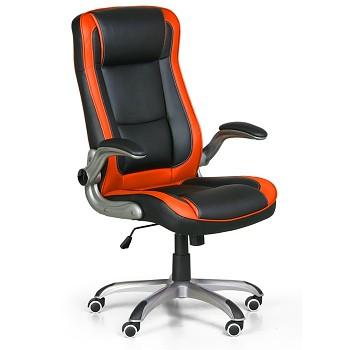 Kancelářské křeslo INFERNO oranžová