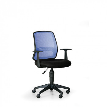 Kancelářská židle EKONOMY modrá