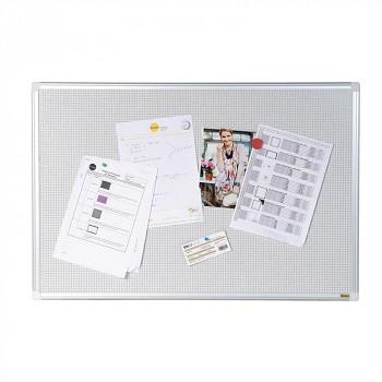 Nástěnka textilní, magnetická 1200x900 mm